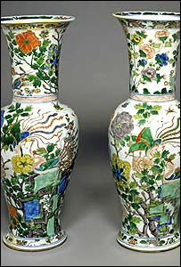 quin dynasty vases